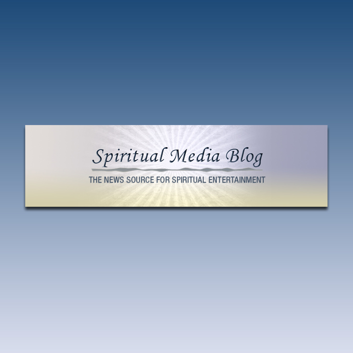 Spiritual Media Blog Podcast